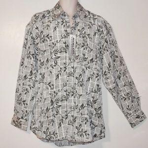 Avalon L Mens Button Shirt Long Sleeve E204